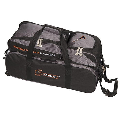 Premium Deluxe Triple Totes w Removable Pouch