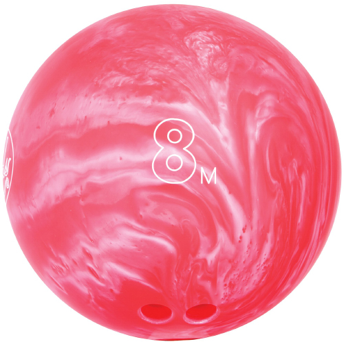lind s 8lb pink easy fit house bowling ball