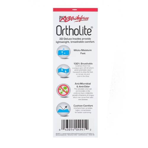 Ortholite 3D Deluxe Insoles