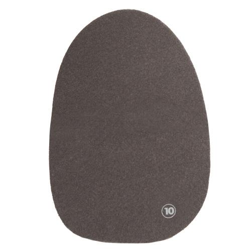 #10 Grey Felt Universal Slide Pad