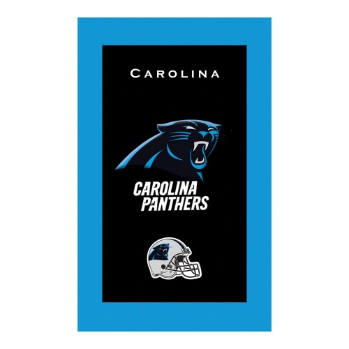 separation shoes 726ac 0dd34 Carolina Panthers Bowling Towel