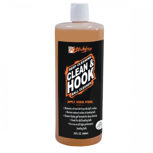 Clean and Hook Ball Cleaner