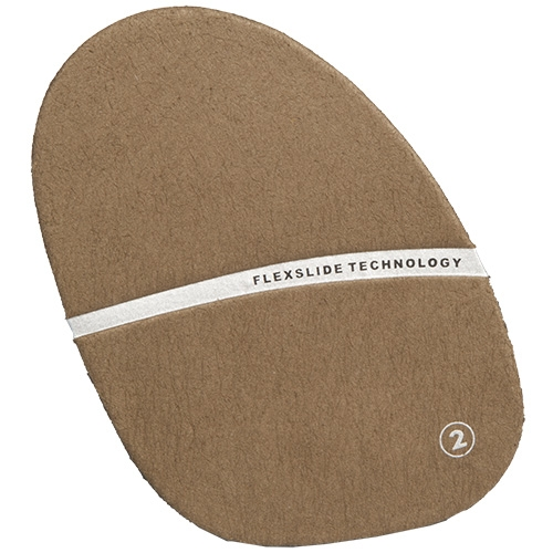 #2 Brown Suede Slide Pad